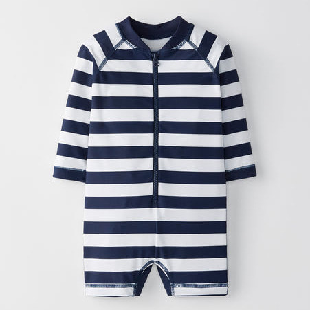 [당일출고] Sunblock Stripey Rash Guard Suit