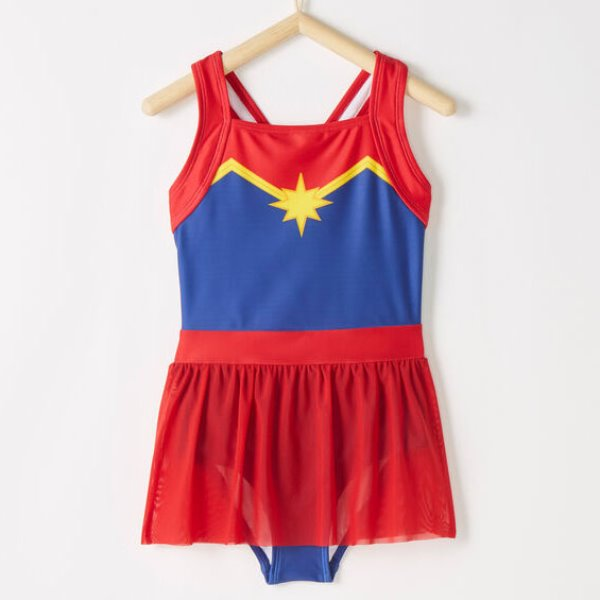 [당일출고] Marvel's Captain Marvel Sunblock One Piece